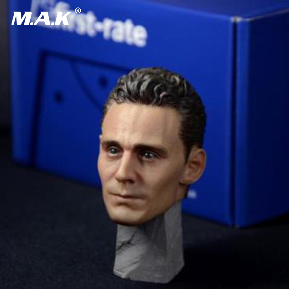 1/6 Scale Loki Tom Hiddleston Head Sculpt Model Toys For 12 Male Action Figure Collections