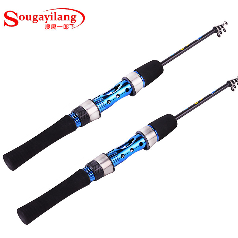 Ice fishing rod raft rocky ice fishing rod carbon fishing for Discount fishing rods