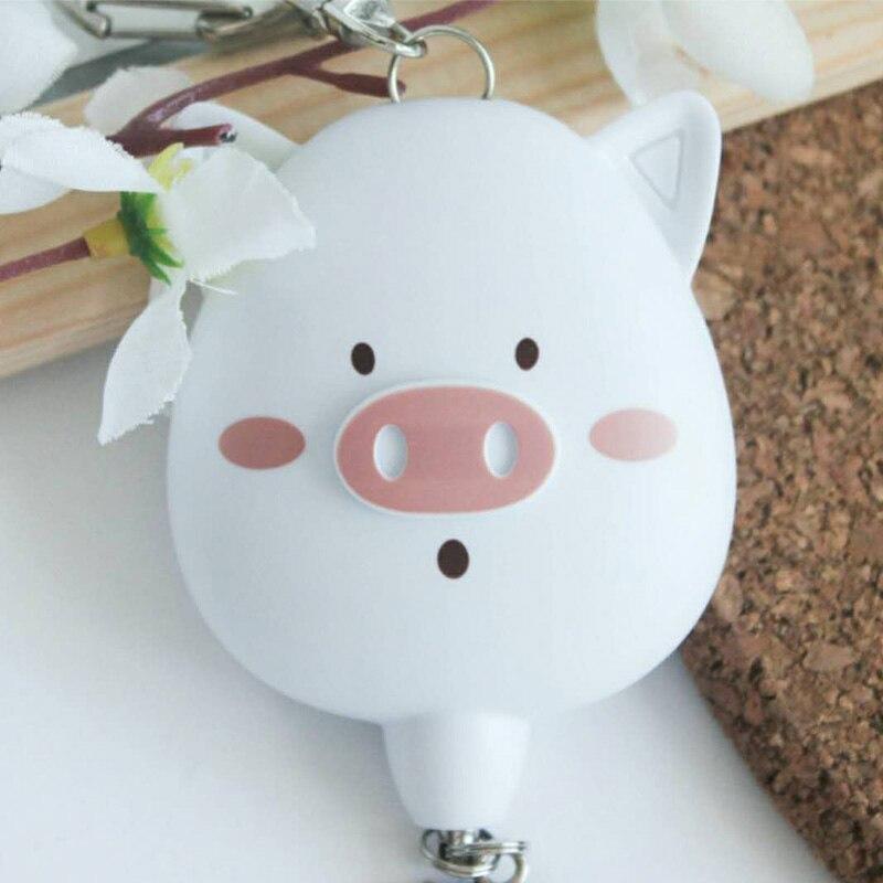 2 шт. в упаковке прекрасный свинья сигнализации оптовая защиты личной самообороны поставляет рекламные 130db личный сигнал тревоги для женщин