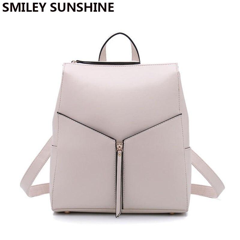 Fashion female genuine leather women backpack feminine backpack for teenager girls school bag backbag schoolbag 2018
