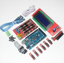 CNC 3D Printer Kit for Arduino Mega 2560 R3 + RAMPS 1.4 Controller + LCD 2004 + 6x Light Control Optical Limit Switch Endstop