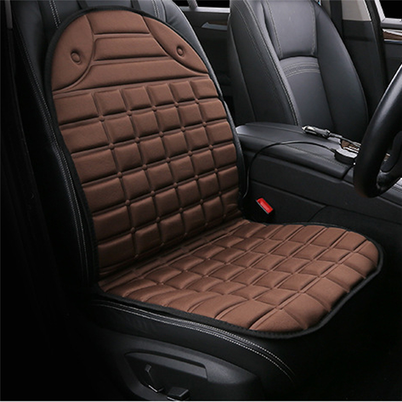 Car Heated Seat Cushion Cover DC12V Heating Heater Warmer PadSeat Cushion Cover Heating Carbon Fiber Warm