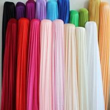 wide 1.7meter fibre modacrylic fabric Ice silk chiffon coat Wedding arrangement pajamas curtain underwear