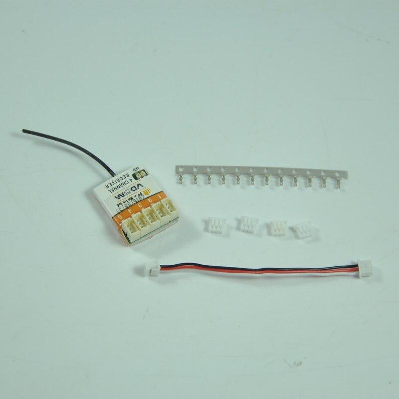 5CH Micro Receptor FrSky VD5M 2.4g Parte Substituição