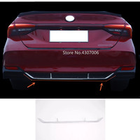 For Toyota Avalon XX50 2018 2019 2020 car styling body cover protection bumper trim ABS chrome rear back tail bottom 1pcs