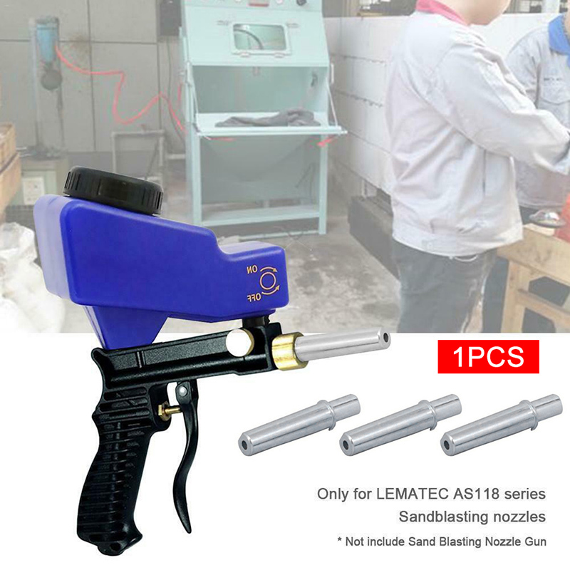 Sandblasting Guns Nozzle Tool For LEMATEC AS118 Sandblaster Guns QJS Shop