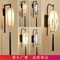 6 типов китайский стиль тканевая настенная лампа LED с кисточками Настенные светильники для гостиной спальни лестницы крыльцо Wandlamp Luminaria