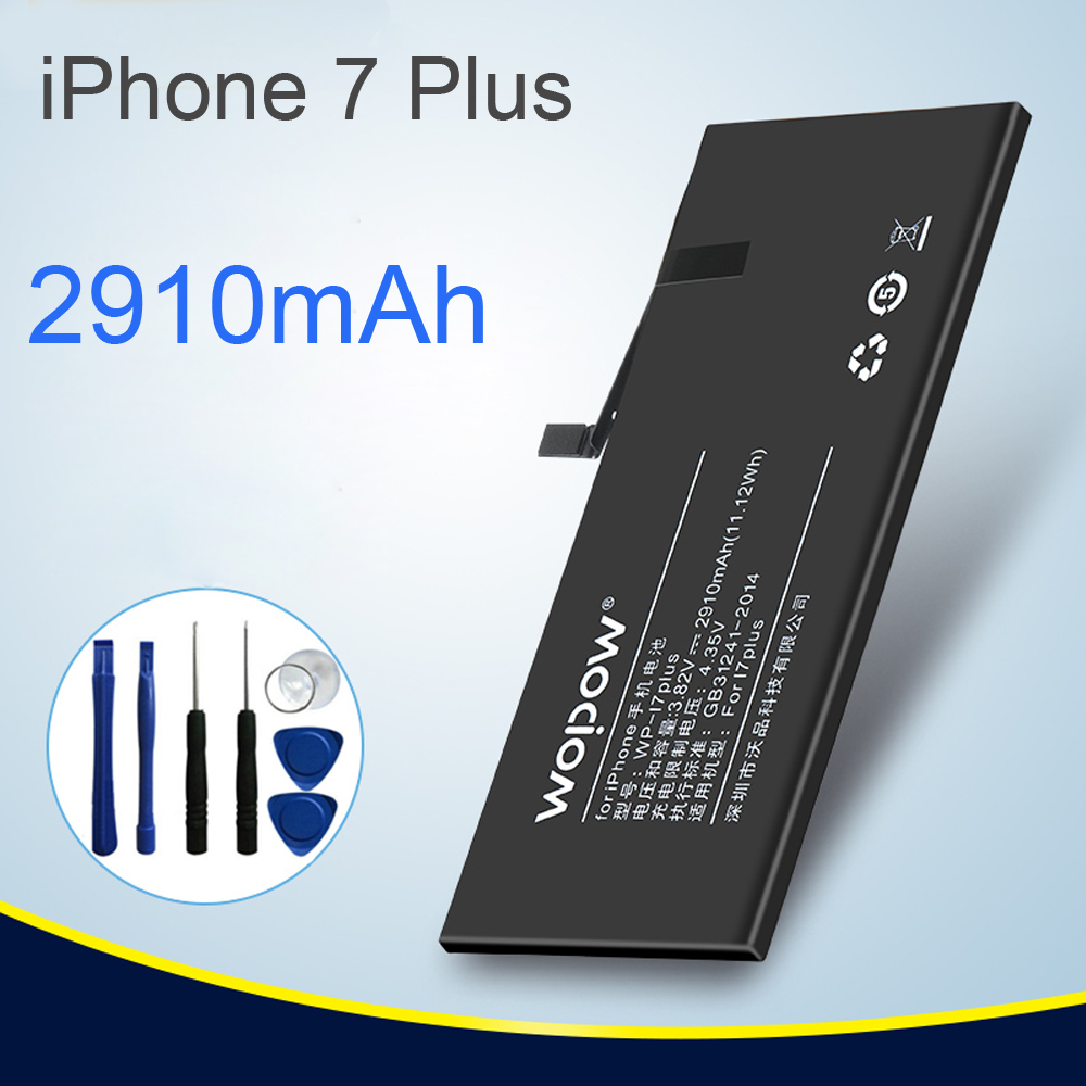 Brand Replacement Internal Real 2910mAh Li-Ion Battery for iPhone 7Plus 5.5inch +Tools Kit