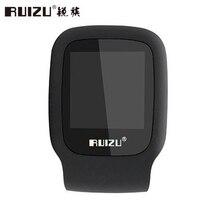2017 Nuevo Llega El Original RUIZU X09 Deporte Reproductor de MP3 4 GB Mini Clip con Pantalla Puede Jugar 30 Horas, con FM, E-libro, Reloj, Datos