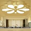 Новая Светодиодная потолочная лампа из кованого железа  лампа для гостиной  специальная спальня  столовая лампа  освещение