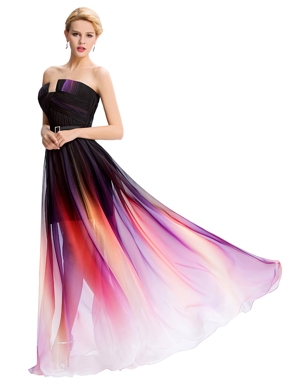 Cheap pink ombre dresses