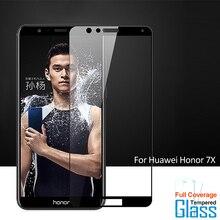 Для стекла Huawei Honor 7X Защитная пленка для экрана из закаленного стекла для Huawei Honor 7X стеклянная пленка для мобильного телефона для Huawei Mate SE