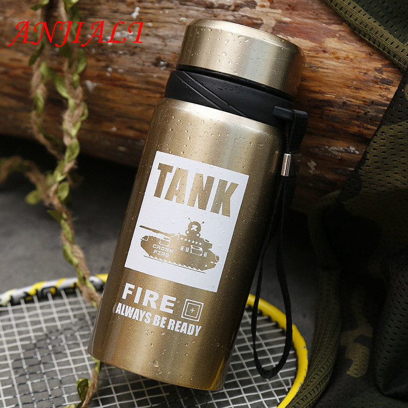 High Capacity Thermo Mug 700ml Thermal Cup Stainless Steel Sports Insulation Thermos Tumbler Water BottlePortable Sports Termos