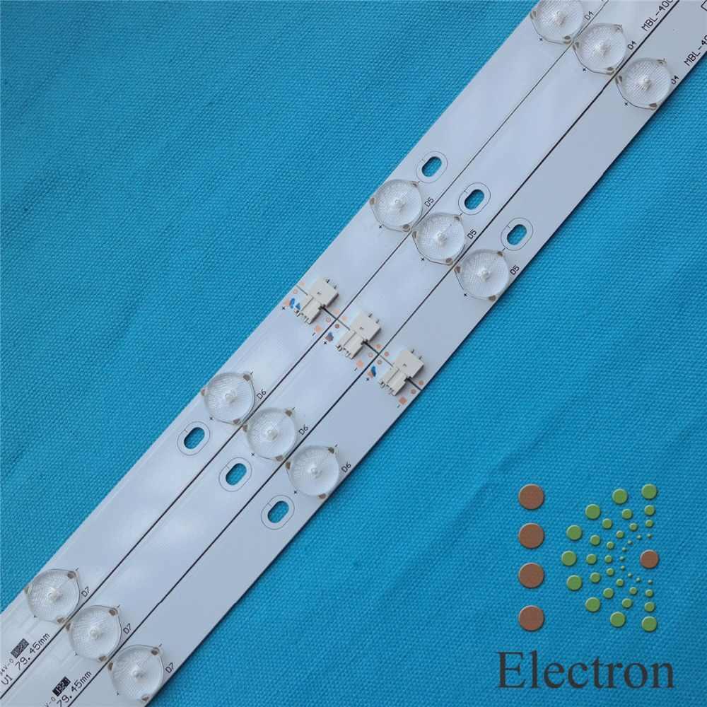775mm * 17mm 10 leds LED Backlight Lampen LED met inverter voor TV Monitor Panel en billboard