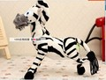 30 cm lovely zebra plush toy cartoon Madagascar zebra doll, Christmas gift b4592