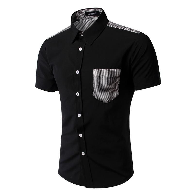 Compare Prices on Pure Black Shirt- Online Shopping/Buy Low Price ...