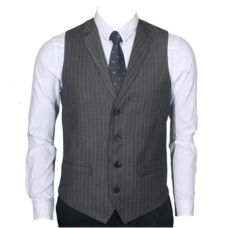 Learned 2019 New Fashion Colorful Wool Vests Custom Made Mens Suit Tailor Slim Fit Vest Wedding Vests For Men Plus Size Factory Direct Selling Price Suits & Blazers