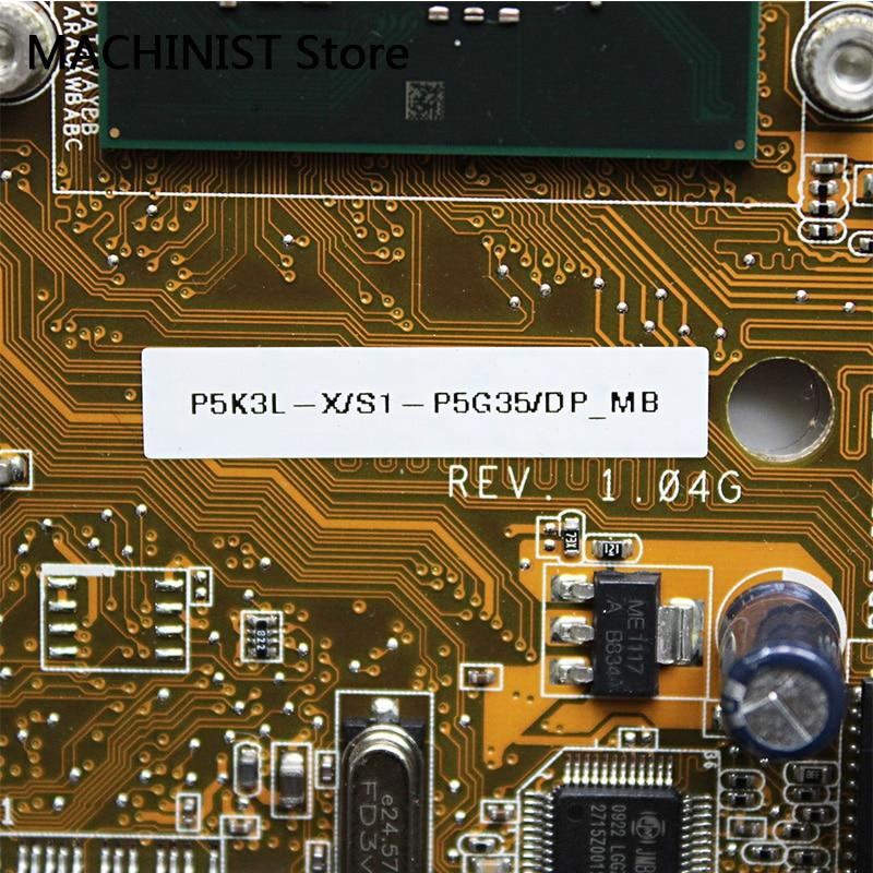 Original For ASUS MINI CS5110 CS5111 P5K3L_X/S1 P5G35 P5K3L desktop motherboard  LGA 775 Intel G31 DDR2 2