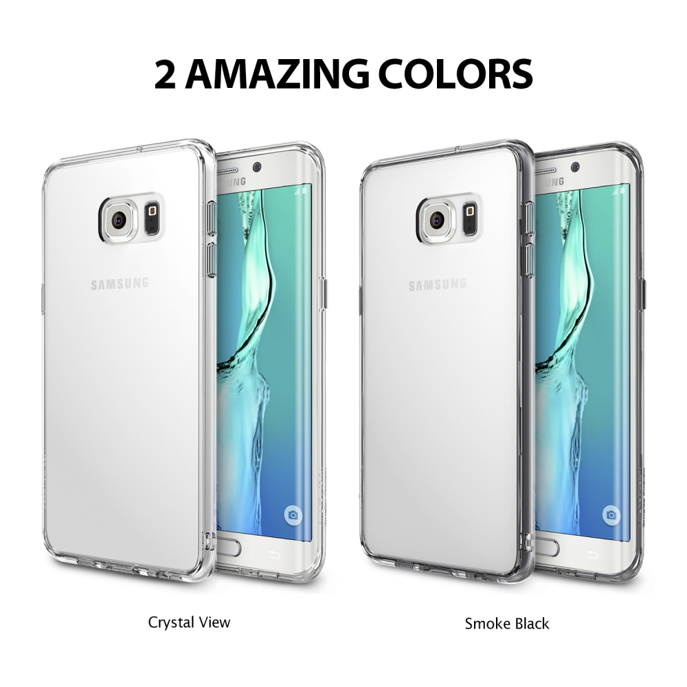 brand new e8e15 c4ddb US $14.99 |100% Original Ringke Fusion Case for Samsung Galaxy S6 Edge /  Samsung Galaxy S6 Edge Plus / S6 Edge+ Clear Back Cover Cases-in Fitted  Cases ...