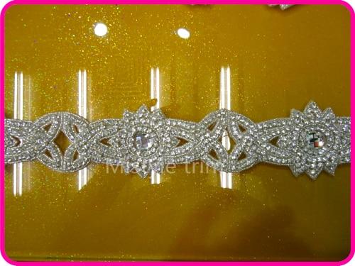 Frete grátis novo handmade nupcial do laço de cristal strass - Artes, Ofícios e Costura