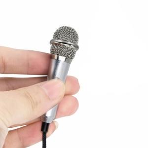 Image 3 - נייד מיני חכם מיקרופון, סטריאו הקבל מיקרופון עבור עבור טלפון נייד מחשב נייד לפטפט שירה קריוקי 3.5mm סט