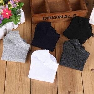 Image 3 - 20 paare/los Mode Socken Herren Gestreiften Socken Kurze Knöchel Low Cut Baumwolle Casual Socke Kleid Socken