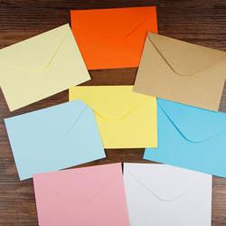 100 шт. 13,5x10 см Цветной пустой Бумага конвертов Свадебная вечеринка приглашение в конверте поздравительные открытки Подарочный конверт