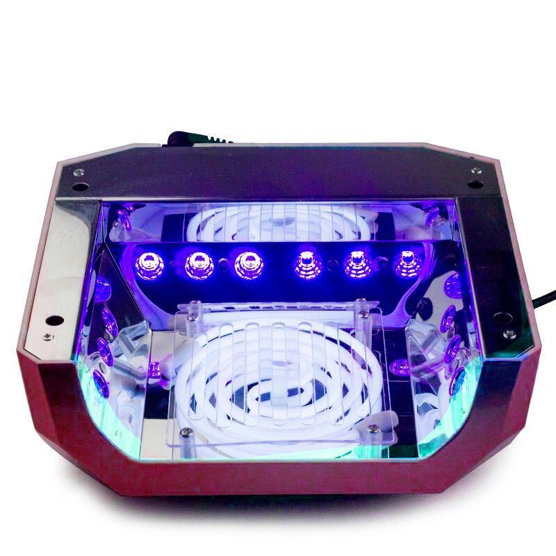 Charmant OCEAN PEARL LED UV Lamp Nail Dryer Nail Lamp 36W Diamond Shaped Lamp LED  CCFL Spiral Bulb UV Gel UV Lamp Nail Art Tools 1006A In Nail Form From  Beauty ...