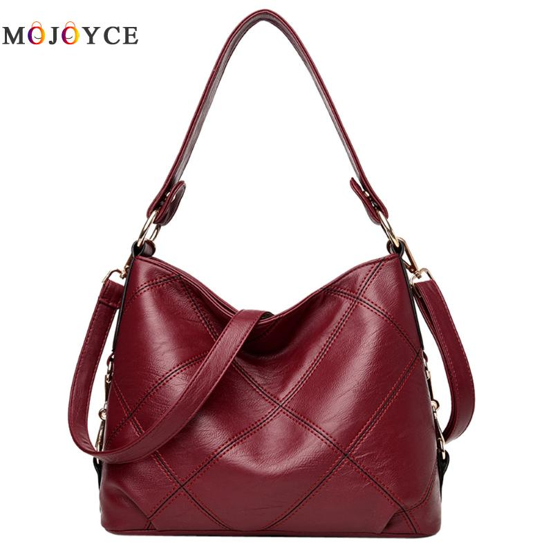 2018 New women bag Lady Top-handle bags handbags women famous brands female Stitching casual Big shoulder bag Soft Tote for girl hot sale 2016 france popular top handle bags women shoulder bags famous brand new stone handbags champagne silver hobo bag b075