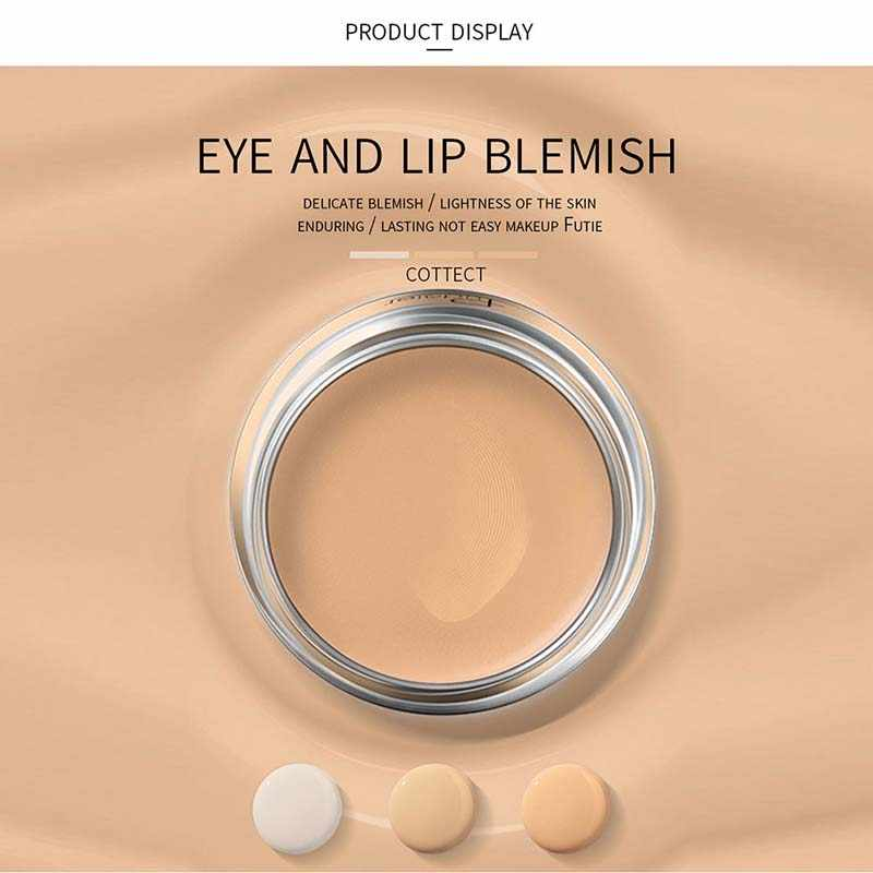 Korektor oczu i warg skazy makijaż fundacja podkład korekta blizna pieg czarne oko wklej uroda makijaż