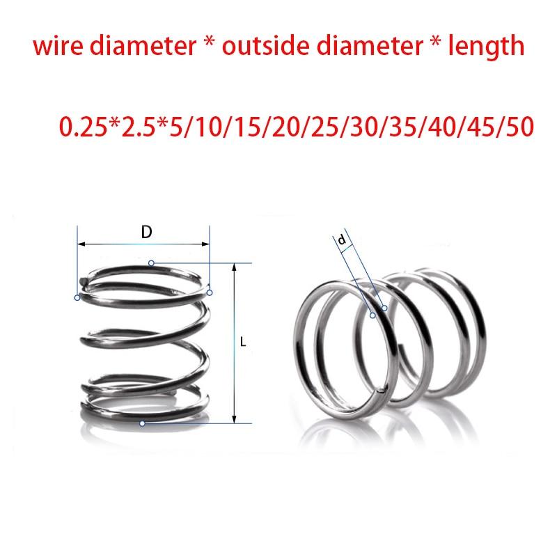 C/âble 1,5 mm diam/ètre 15mm 300mm longueur en acier au mangan/èse noir ressort tension