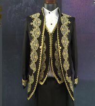 Suit Brand Skinny Jacket Pants Male Formal Dress Royal Suits Blazer Trousers Fashion Slim Wedding Prom Dresses Clothing Set