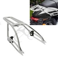 Motorbike Chrome Two Up Luggage Rack For Harley Street 500 750 XG 500 750 15 18 Motorcycle