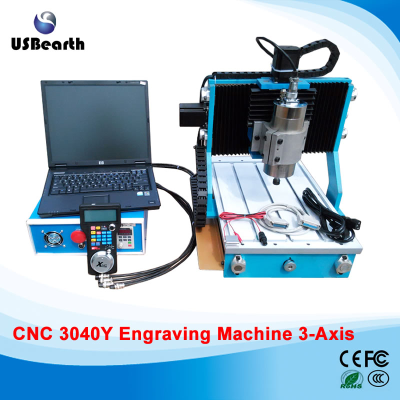 CNC 3040Y 3Axis mini cnc Router 800W Wood Metal Engraving Milling Machine high precision table moving 4 axis cnc mini router 3 axis mini cnc router metal engraving machine 3030 4040 6060