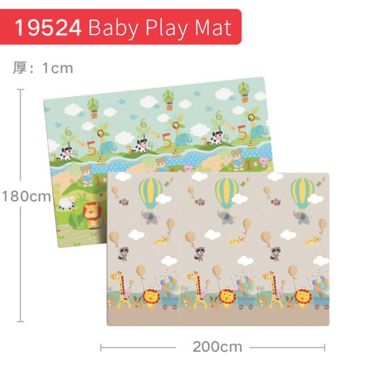 1 pièces tapis de jeu pour bébé Puzzle tapis pour enfants épaissi Tapete tapis rampant pour chambre d'enfant tapis pliant tapis bébé enfant en bas âge jouet D61 - 4