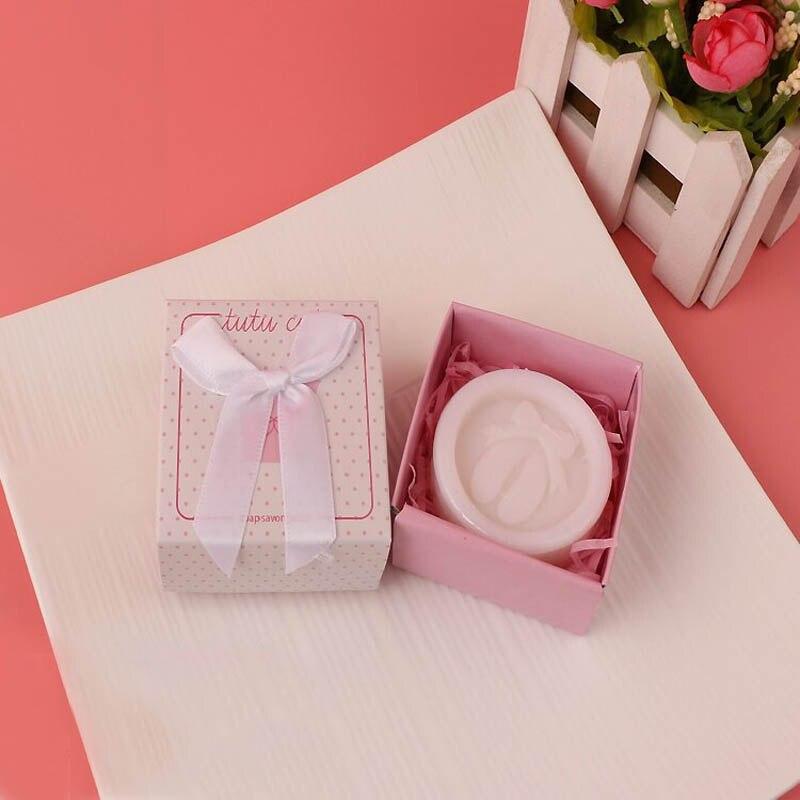 20 шт./лот мини-мыло ручной работы с ароматом для сувенир для свадебной вечеринки и детского душа подарок Свадебные сувениры Мыло для купания - Цвет: girl