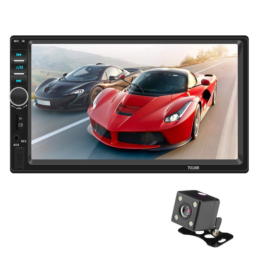 7018B 2 Din 7 Touch Screen Car MP5 Player Audio Stereo FM Radio Bluetooth MP3 Player Support TF Multimedia Player Car Radio Auto7018B 2 Din 7 Touch Screen Car MP5 Player Audio Stereo FM Radio Bluetooth MP3 Player Support TF Multimedia Player Car Radio Auto