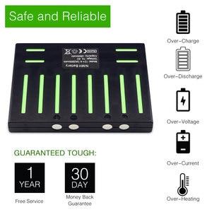 Image 5 - (Für QQ5) sparkole 14,4 V 2800mAh NIMH Batterie für Cleanmate QQ5 Vakuum Reinigung Roboter (CE & UL genehmigt)