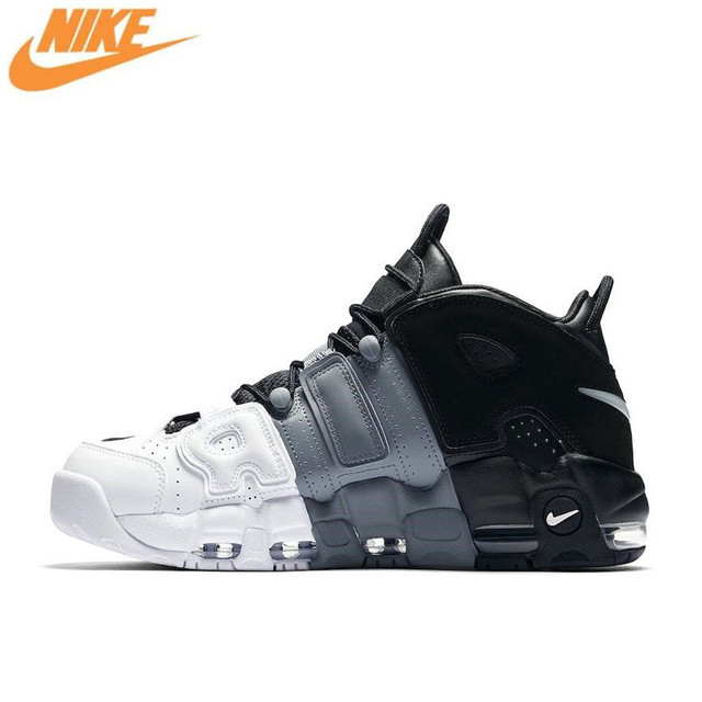 best service 90bb8 7edb2 italy nike air more uptempo mens basketball shoesmen new arrival authentic  outdoor sports sneakers shoes 61adf