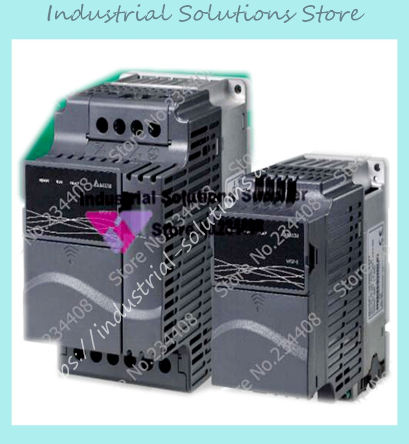 Input 3ph 380V Output 3ph Delta Inverter E-Series VFD004E43A 0~480V 1.5A 0.1~600Hz VFD-E 0.4KW 0.5HP New Original input 3 ph 380v output 3 ph inverter fr d740 5 5k cht 380 480v 12a 5 5kw 0 2 400hz new original