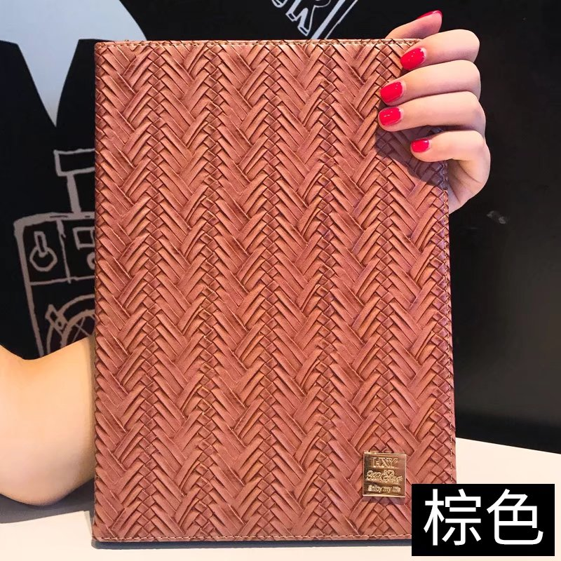 maosenguoji Vintage Weave texture Business luxury Bracket cute Tablet Case For Ipad 2/3/4 Smart wake up/sleep Function cover
