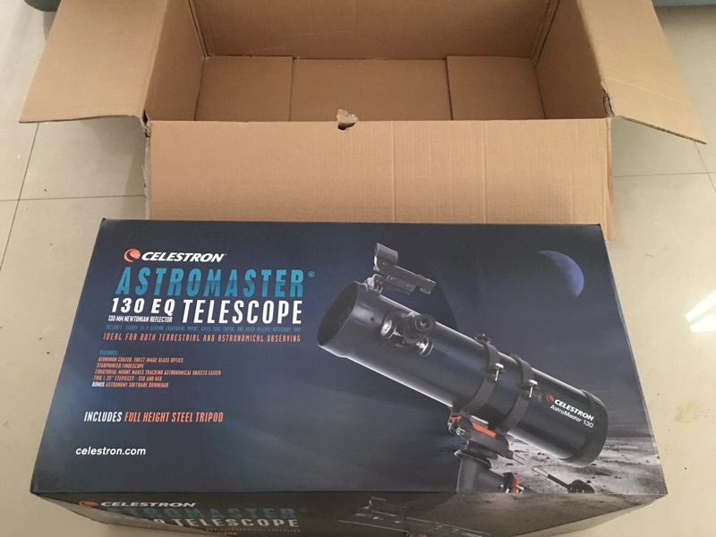 2017 new astromaster 130eq reflector astronomical telescope
