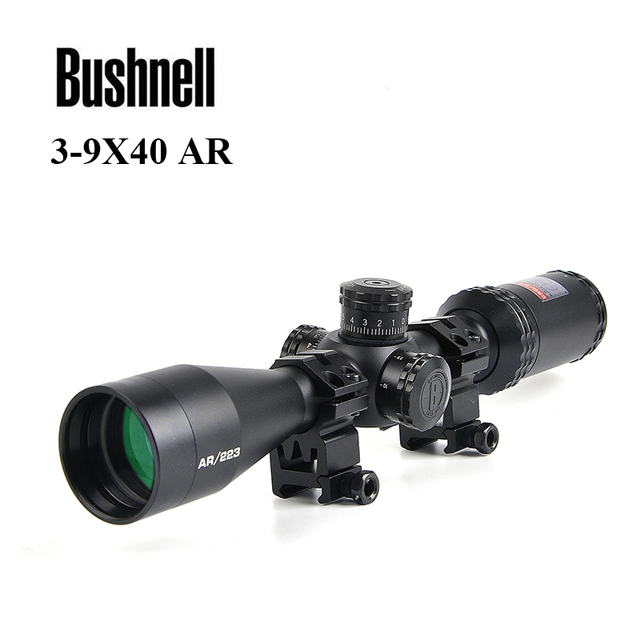 BUSHNELL   3-9x40 AR Optics 223 Rifle Scope for Target Shooting Hunting Scopes Outdoor Reticle Optic Sight Tactical Riflescope