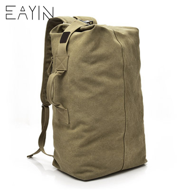 Mountaineering Backpack Male Large Capacity Backpack Man Travel Bag Luggage For Boys Canvas Bucket Shoulder Backpack BagsMountaineering Backpack Male Large Capacity Backpack Man Travel Bag Luggage For Boys Canvas Bucket Shoulder Backpack Bags