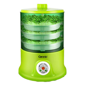 Image 2 - Машина для выращивания фасоли, домашняя полностью автоматическая машина для выращивания фасоли с 3 слоями большой емкости, интеллектуальная многофункциональная машина для выращивания фасоли в уме дома