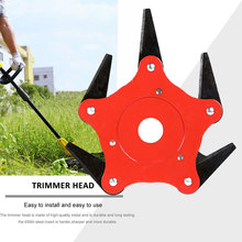 5 Steel Razor Manganese Stee String Trimmers Yard Trimmer Head Updated Spring Agricultural Use Outdoor Grass Brushcutter
