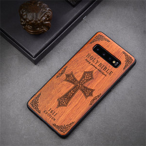 Image 5 - New For Samsung Galaxy S10 Case Slim Wood Back Cover TPU Bumper Case For Samsung S10 Samsung s20 plus s20 ultra Phone Cases