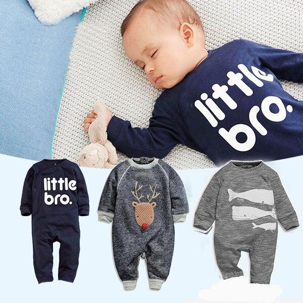 ff1c276be Nuevo Bebé Mamelucos de la Ropa Para Los Recién Nacidos Body Suit Ropa  Niños Niñas Mono Del Bebé Del Mameluco de Algodón Ropa Infantil 2016 en ...