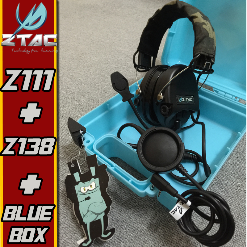 Z TAC Sordin Headset Peltor Airsoftsports Tactical PTT Kenwood Midland Softair Arsoft Earphone For Shooting Headphones
