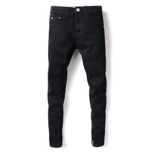 2017 New Dsel Brand Jeans Men Famous Black Men Jeans Trousers Male Denim Straight Cut Fit Men Jeans Pants,Black Jeans,2001